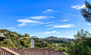 Spacious frontline golf apartment with great panoramic views for sale in Benahavis - Marbella 19918