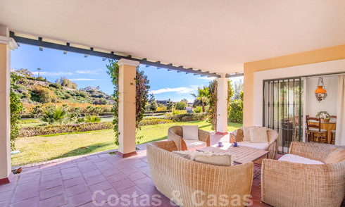 Spacious frontline golf apartment with great panoramic views for sale in Benahavis - Marbella 19923