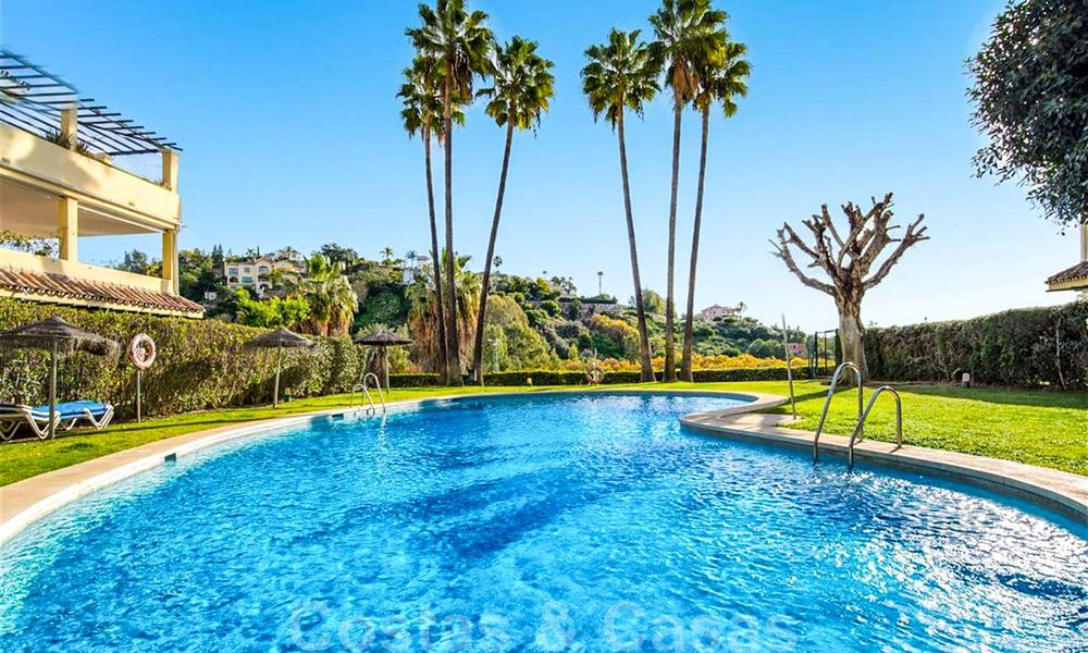 Spacious frontline golf apartment with great panoramic views for sale in Benahavis - Marbella 19925