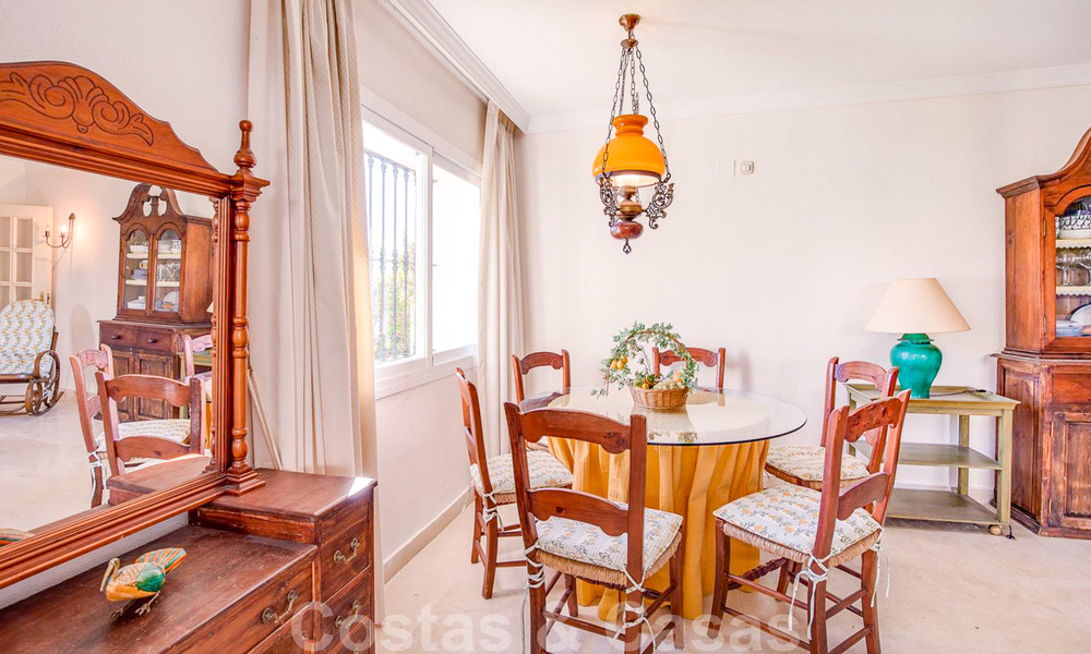 Spacious frontline golf apartment with great panoramic views for sale in Benahavis - Marbella 19927