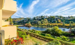 Spacious frontline golf apartment with great panoramic views for sale in Benahavis - Marbella 19930