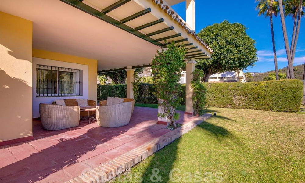 Spacious frontline golf apartment with great panoramic views for sale in Benahavis - Marbella 19931