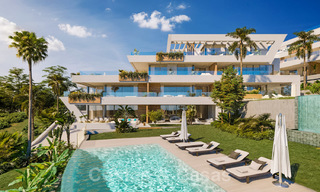 New modern luxury apartments with amazing sea views for sale, frontline golf in Marbella East 19940