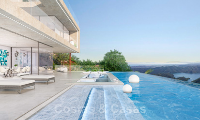 Off-plan modern luxury villa with stunning lake, sea and mountain views for sale in Marbella 19945