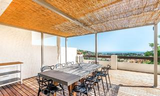 Spacious modern apartment with sea and golf views for sale in Benahavis - Marbella 20013