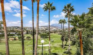 Huge price reduction! Impressive new frontline golf luxury apartment for sale, move-in ready, Nueva Andalucia, Marbella 20039