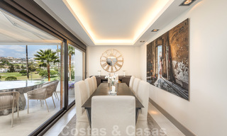 Huge price reduction! Impressive new frontline golf luxury apartment for sale, move-in ready, Nueva Andalucia, Marbella 20041
