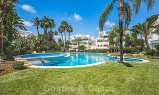 Huge price reduction! Impressive new frontline golf luxury apartment for sale, move-in ready, Nueva Andalucia, Marbella 20042