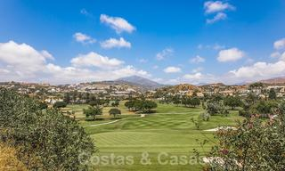 Huge price reduction! Impressive new frontline golf luxury apartment for sale, move-in ready, Nueva Andalucia, Marbella 20043