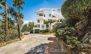Huge price reduction! Impressive new frontline golf luxury apartment for sale, move-in ready, Nueva Andalucia, Marbella 20044