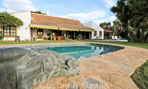 Unique traditional style villa with separate guest house for sale, walking distance to San Pedro centre, Marbella 20619