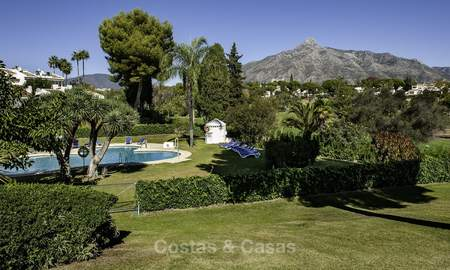 Apartments for sale, first line Aloha Golf Club, Nueva Andalucia, Marbella 20151