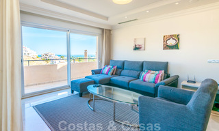 Rare, very stunning penthouse apartment with huge terrace and amazing sea views for sale in Nueva Andalucia, Marbella 20325