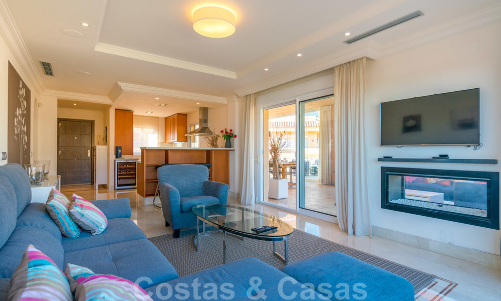 Rare, very stunning penthouse apartment with huge terrace and amazing sea views for sale in Nueva Andalucia, Marbella 20337