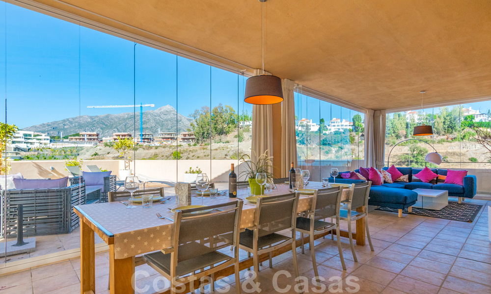 Rare, very stunning penthouse apartment with huge terrace and amazing sea views for sale in Nueva Andalucia, Marbella 20342