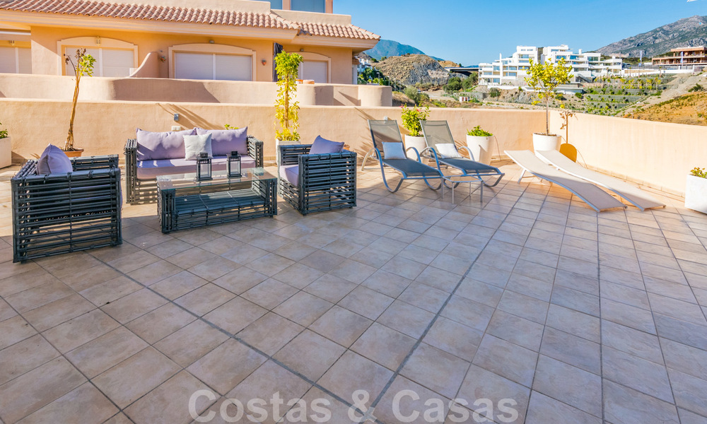 Rare, very stunning penthouse apartment with huge terrace and amazing sea views for sale in Nueva Andalucia, Marbella 20345