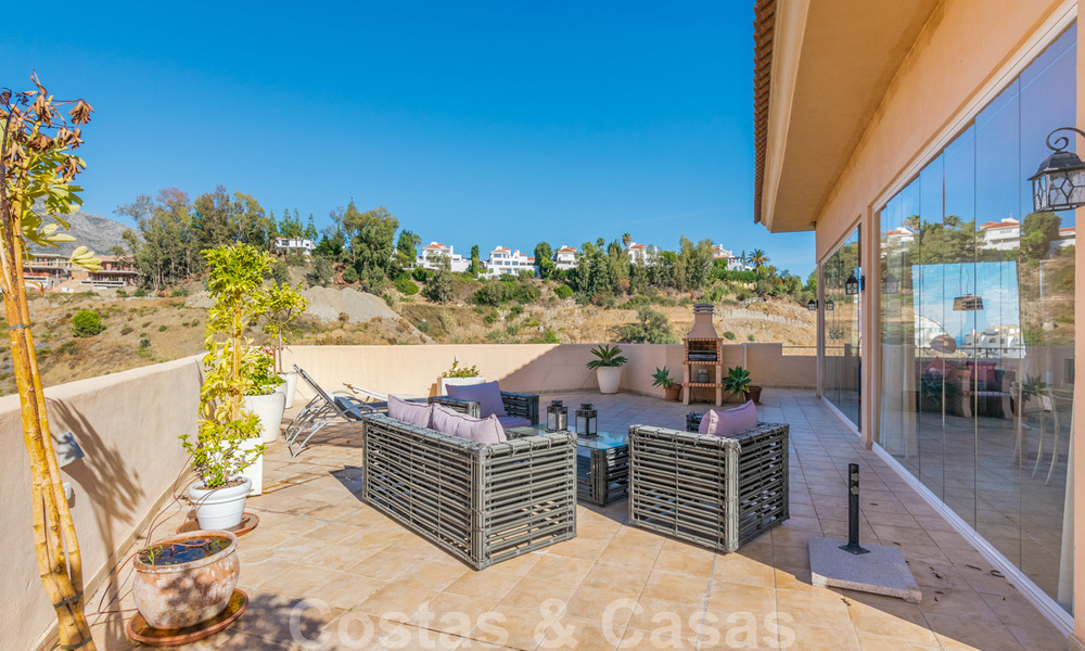 Rare, very stunning penthouse apartment with huge terrace and amazing sea views for sale in Nueva Andalucia, Marbella 20346
