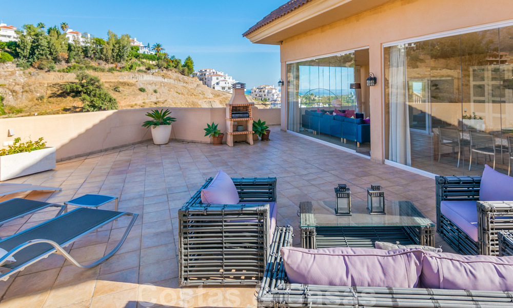 Rare, very stunning penthouse apartment with huge terrace and amazing sea views for sale in Nueva Andalucia, Marbella 20347