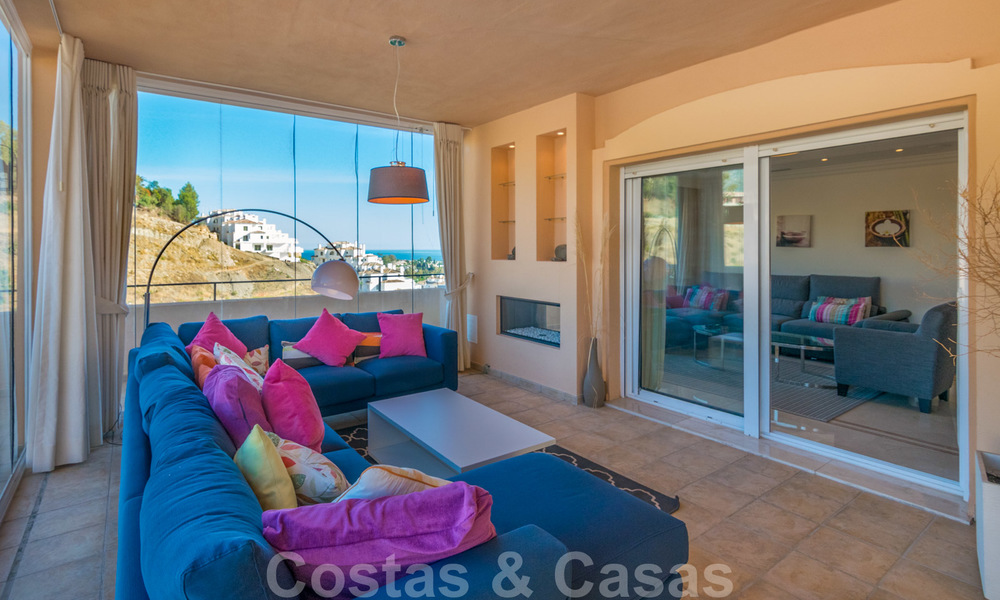 Rare, very stunning penthouse apartment with huge terrace and amazing sea views for sale in Nueva Andalucia, Marbella 20353