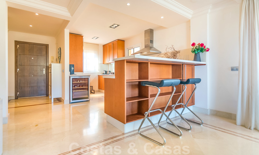Rare, very stunning penthouse apartment with huge terrace and amazing sea views for sale in Nueva Andalucia, Marbella 20359