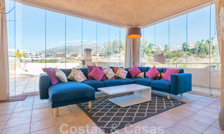 Rare, very stunning penthouse apartment with huge terrace and amazing sea views for sale in Nueva Andalucia, Marbella 20360
