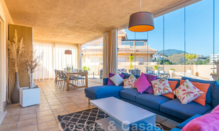 Rare, very stunning penthouse apartment with huge terrace and amazing sea views for sale in Nueva Andalucia, Marbella 20361