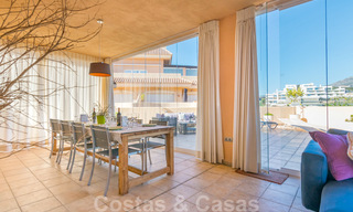 Rare, very stunning penthouse apartment with huge terrace and amazing sea views for sale in Nueva Andalucia, Marbella 20362