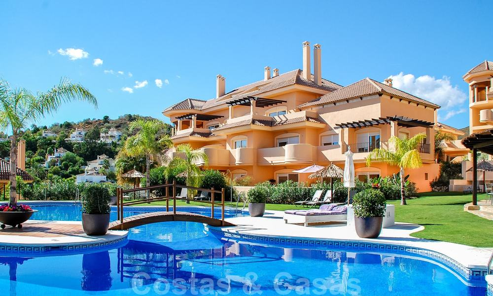 Rare, very stunning penthouse apartment with huge terrace and amazing sea views for sale in Nueva Andalucia, Marbella 20387