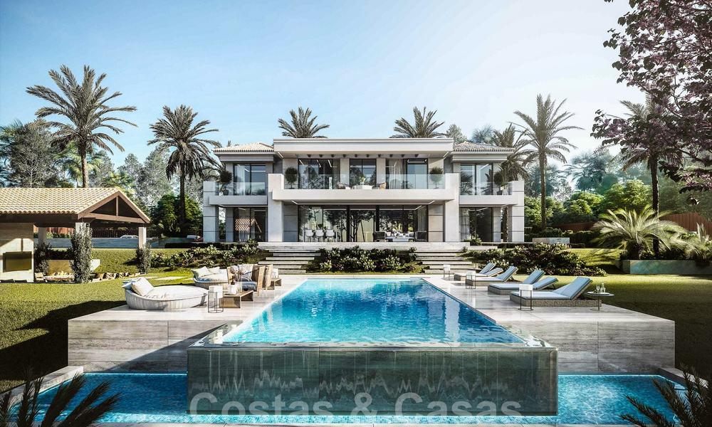 Modern luxury villa with sea views for sale in golf resort ...
