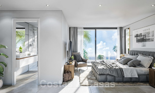 Brand new modern contemporary luxury villa with sea views for sale, walking distance to the beach, Estepona 20682