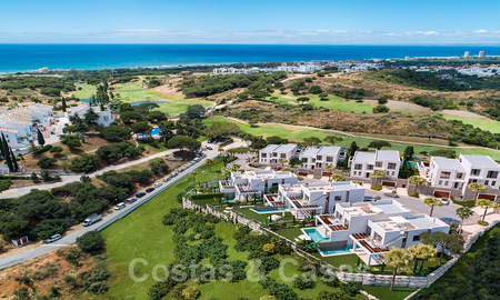 Brand new modern semi-detached villas with stunning sea views for sale, East Marbella 20558