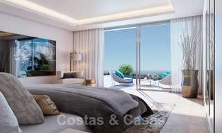 Brand new modern semi-detached villas with stunning sea views for sale, East Marbella 20562