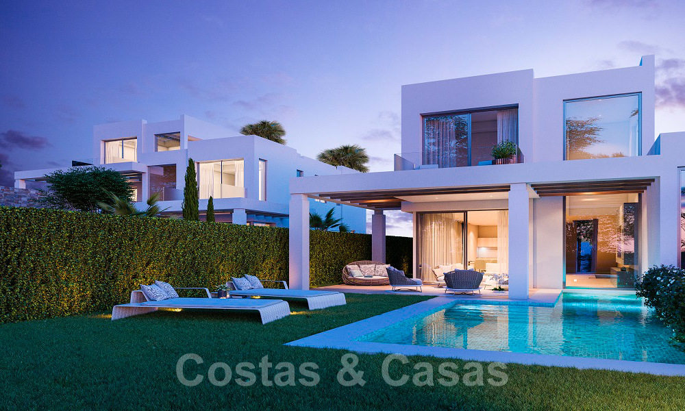 Brand new modern semi-detached villas with stunning sea views for sale, East Marbella 20569