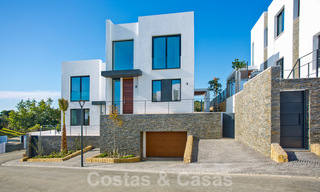 Brand new modern semi-detached villas with stunning sea views for sale, East Marbella 20570