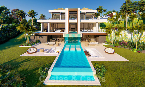 Spectacular, very luxurious contemporary villa with sea and golf views for sale, Benahavis - Marbella 20738