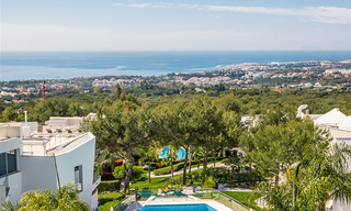 Exceptional luxury villas with sea views for sale, in an exclusive complex in the Golden Mile, Marbella 20835