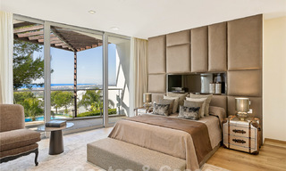 Exceptional luxury villas with sea views for sale, in an exclusive complex in the Golden Mile, Marbella 20859