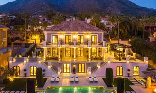 Masterpiece fully renovated classic villa with sea views for sale, Sierra Blanca, Marbella 21038