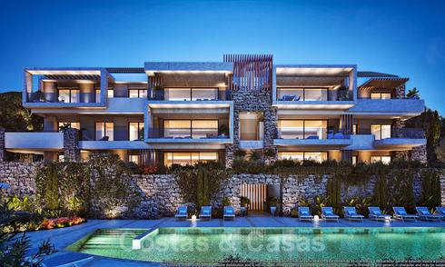 Opportunity! Last units. Key ready. Splendid new apartments with amazing sea views for sale in a beautiful golf and lake resort, Benahavis - Marbella 21094