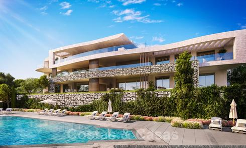 New luxury apartments with panoramic views for sale in a new amazing lake and golf resort in Benahavis - Marbella 21163