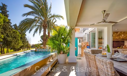 Gorgeous front line golf townhouse for sale, close to amenities and downtown San Pedro, Marbella 21233