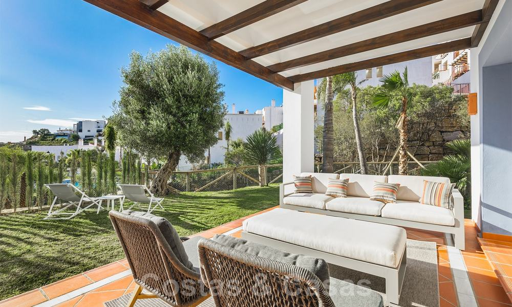 New apartments for sale in a unique Andalusian village complex, Benahavis - Marbella. Phase 1: ready to move in 21439