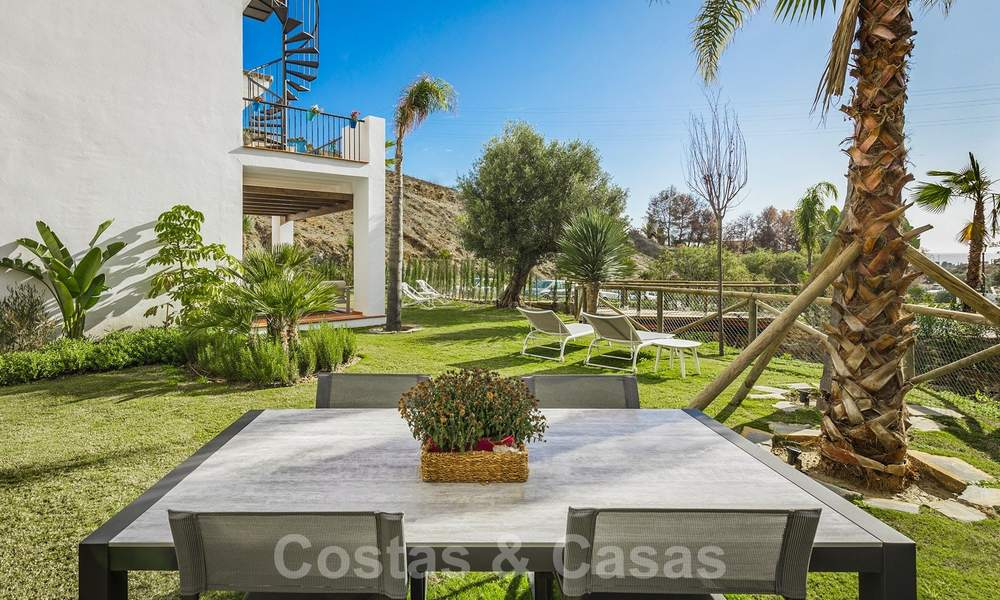New apartments for sale in a unique Andalusian village complex, Benahavis - Marbella. Phase 1: ready to move in 21442