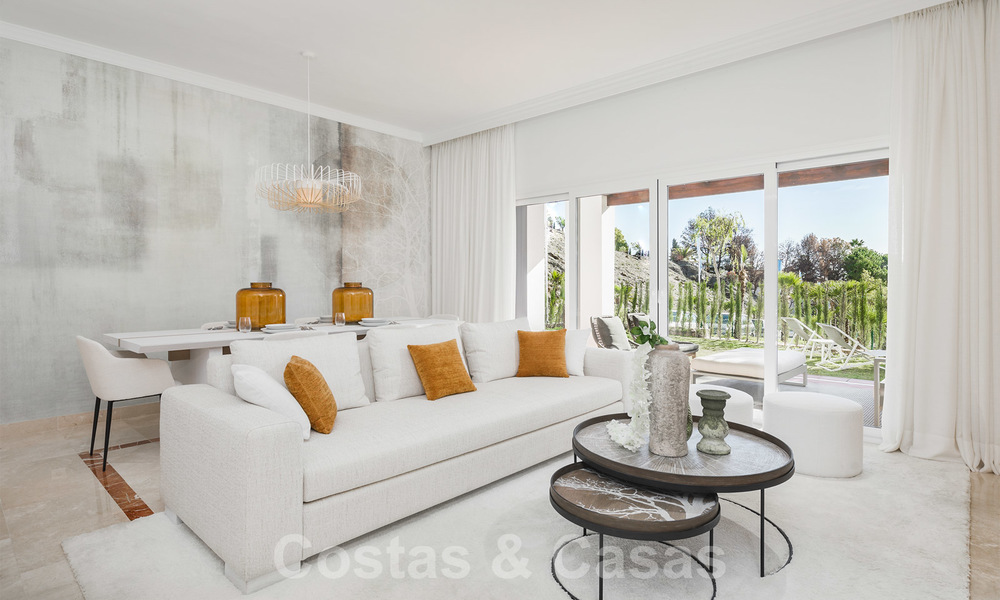 New apartments for sale in a unique Andalusian village complex, Benahavis - Marbella. Phase 1: ready to move in 21445