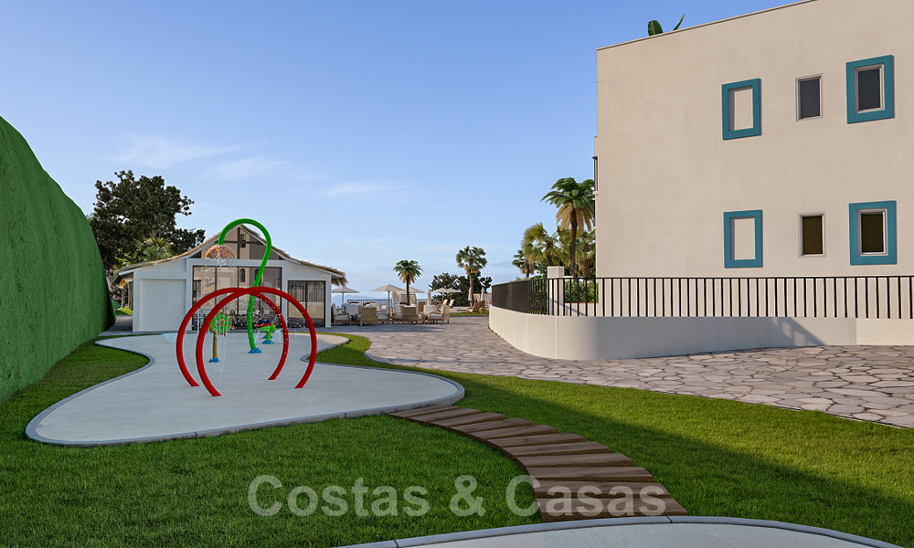 New apartments for sale in a unique Andalusian village complex, Benahavis - Marbella. Phase 1: ready to move in 21452
