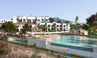 New apartments for sale in a unique Andalusian village complex, Benahavis - Marbella. Phase 1: ready to move in 21456