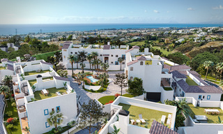 New apartments for sale in a unique Andalusian village complex, Benahavis - Marbella. Phase 1: ready to move in 21457