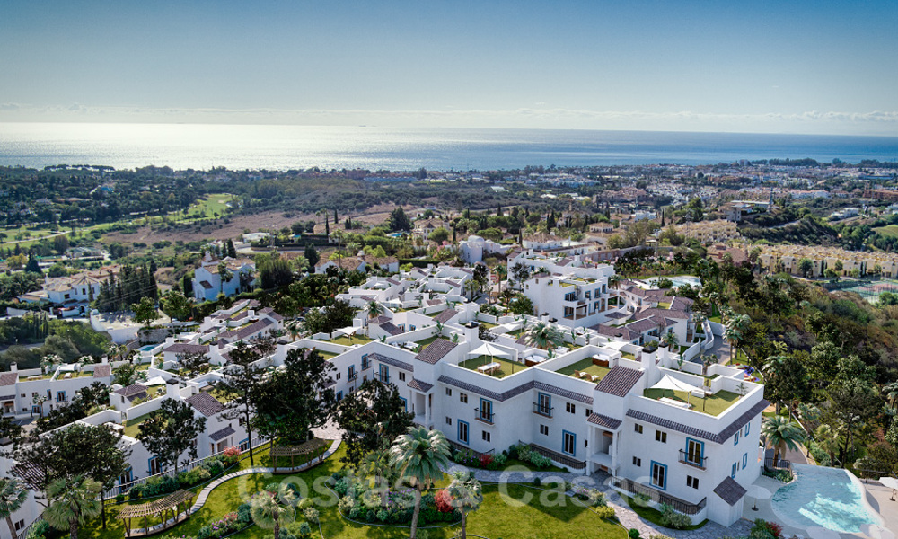 New apartments for sale in a unique Andalusian village complex, Benahavis - Marbella. Phase 1: ready to move in 21458