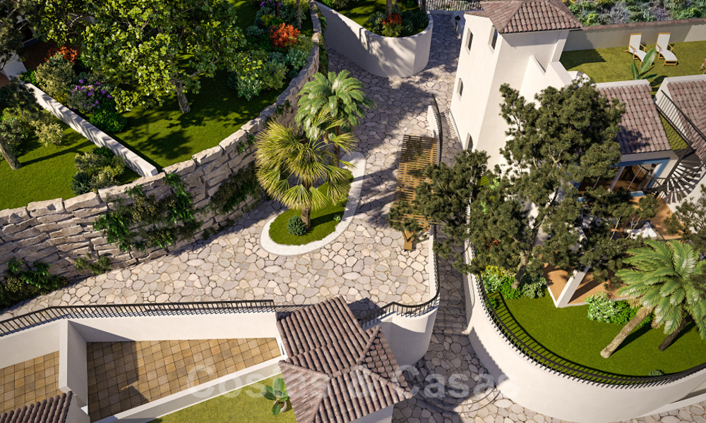 New apartments for sale in a unique Andalusian village complex, Benahavis - Marbella. Phase 1: ready to move in 21461