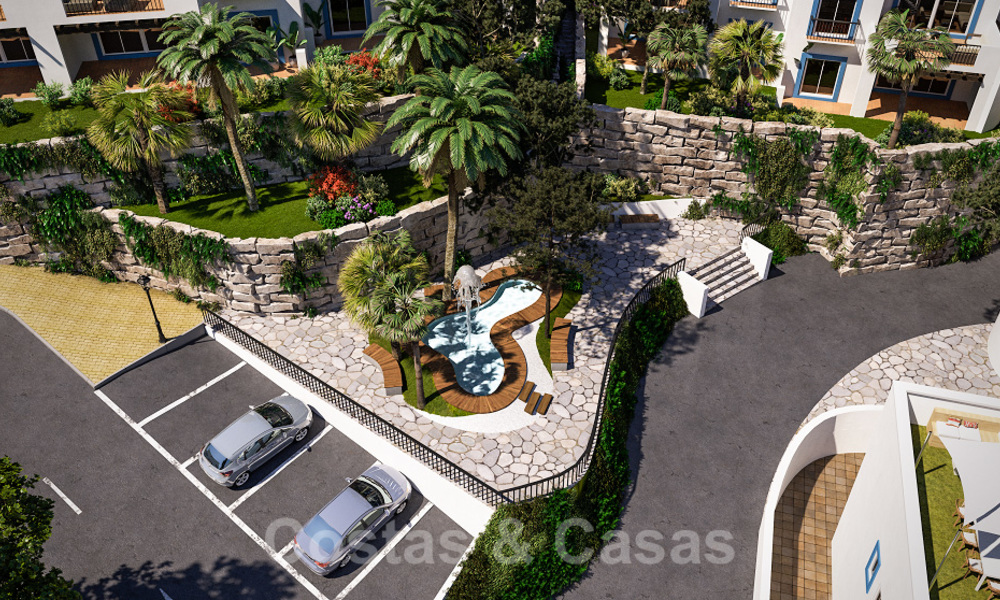 New apartments for sale in a unique Andalusian village complex, Benahavis - Marbella. Phase 1: ready to move in 21462